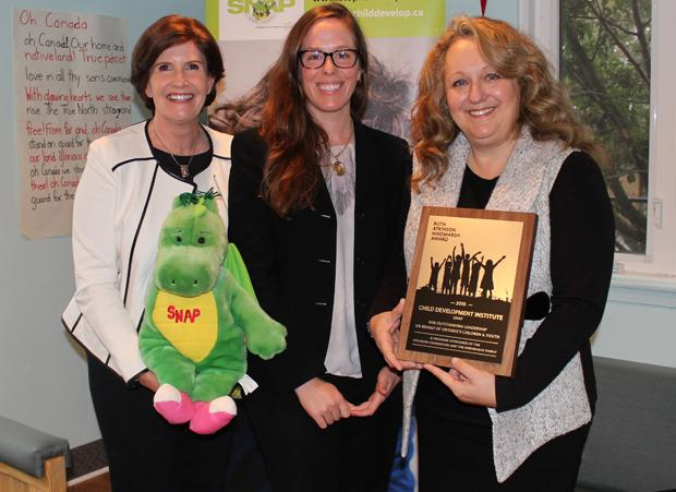 SNAP is the 2015 recipient of the prestigious Ruth Atkinson Hindmarsh Award.